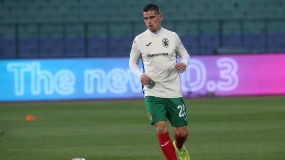 Бранителят на българския национален отбор Иван Горанов бе разочарован след