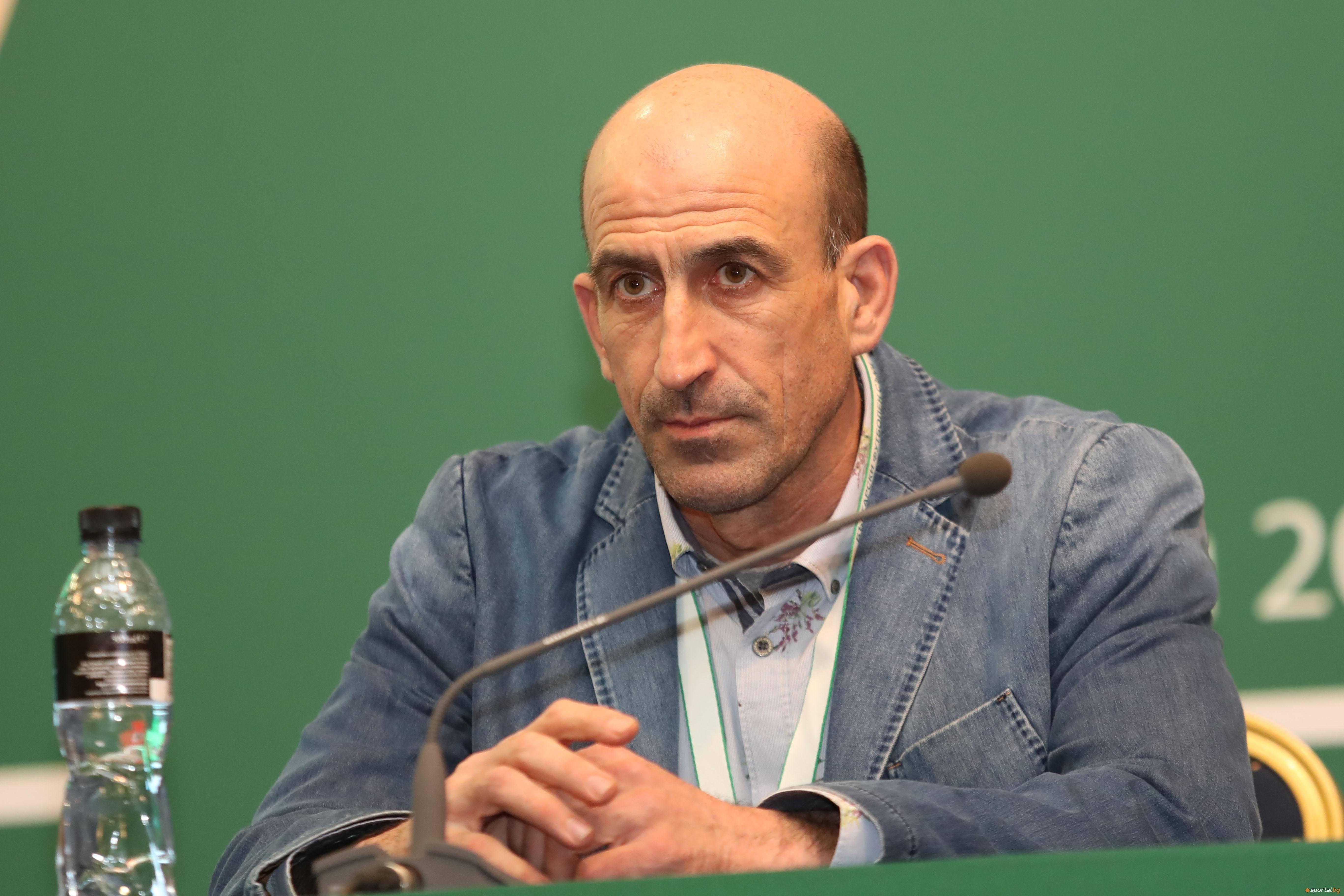 Първият вицепрезидент на БФС и отговорник за националните отбори Йордан