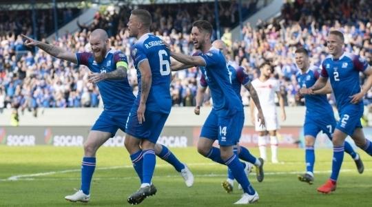 Националният отбор по футбол на Исландия нанесе първата загуба на