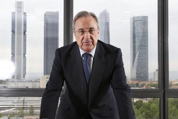 Президентът на Реал Мадрид Флорентино Перес увери запалянковците, че всички