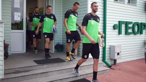 Отборът на Хебър (Пазарджик) проведе първа тренировка от лятната си