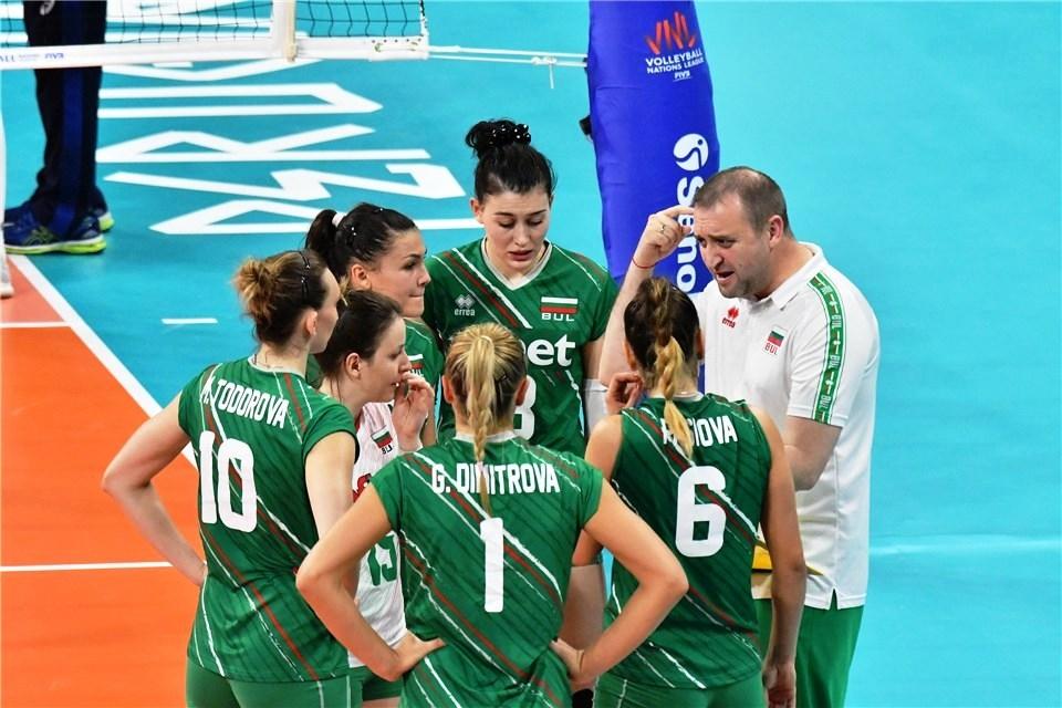 Селекционерът женския ни национален волейболен отбор Иван Петков коментира след