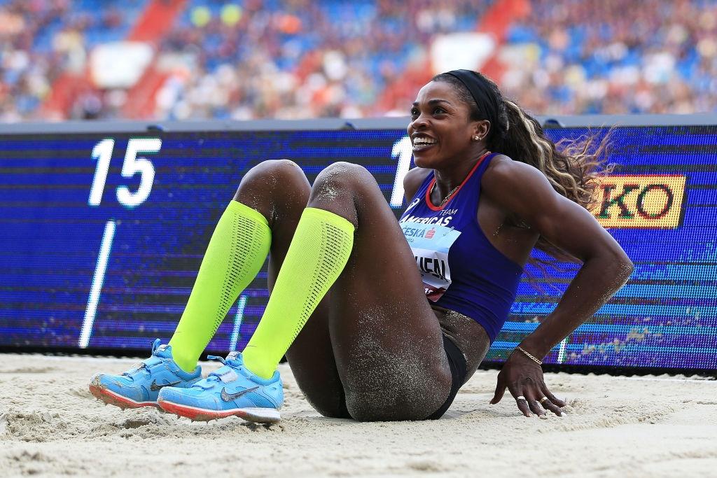 Олимпийската и двукратна световна шампионка в тройния скок Катерин Ибаргуен