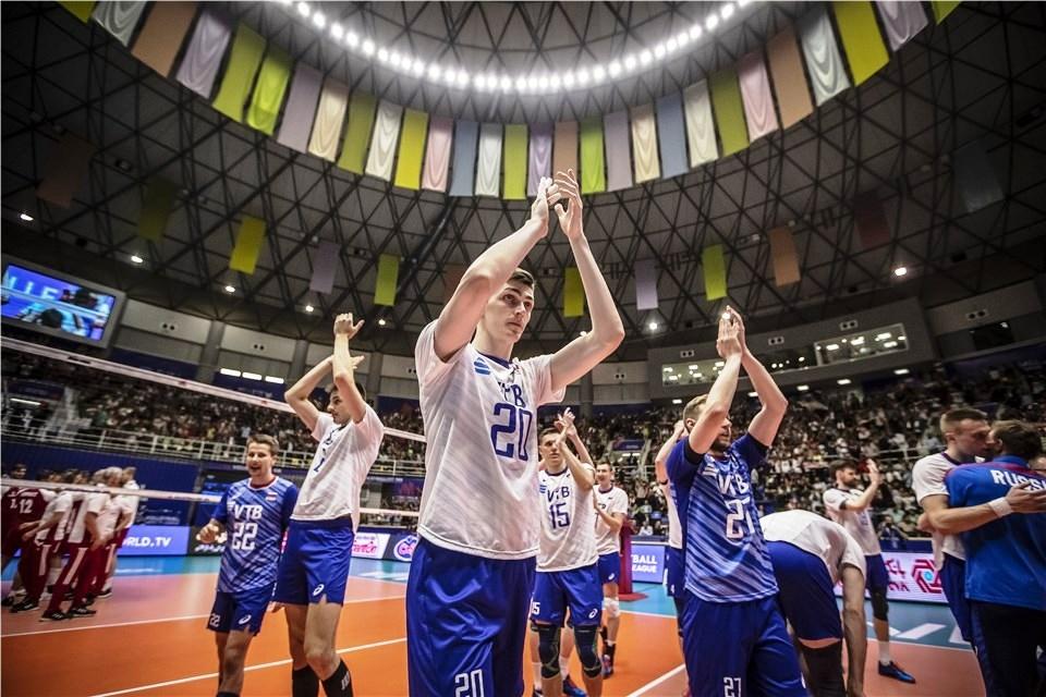 Настоящите шампиони във Волейболната Лига на нациите от Русия продължават