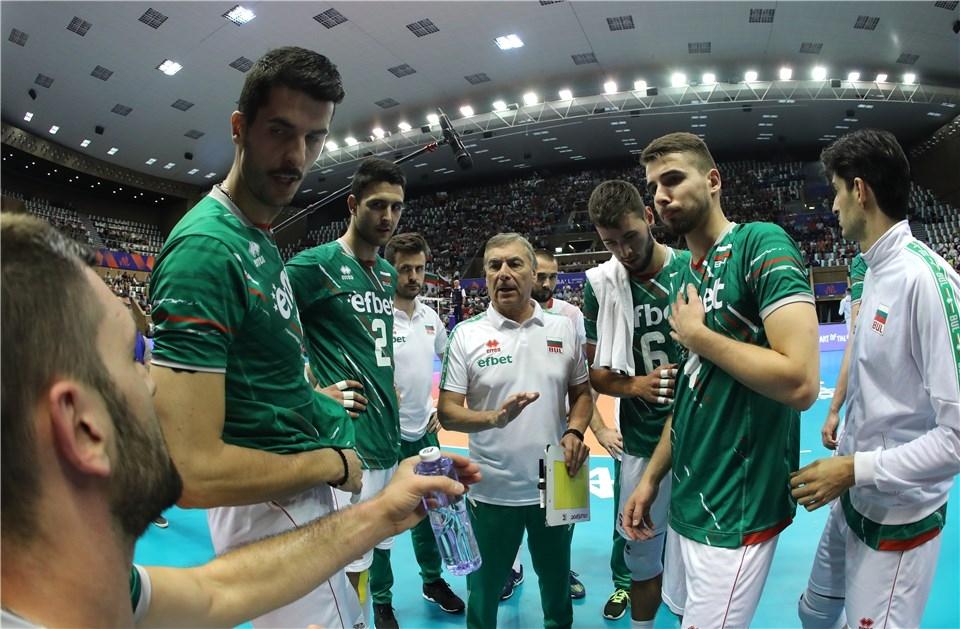 Селекционерът на националния ни волейболен отбор Сивано Пранди бе доста