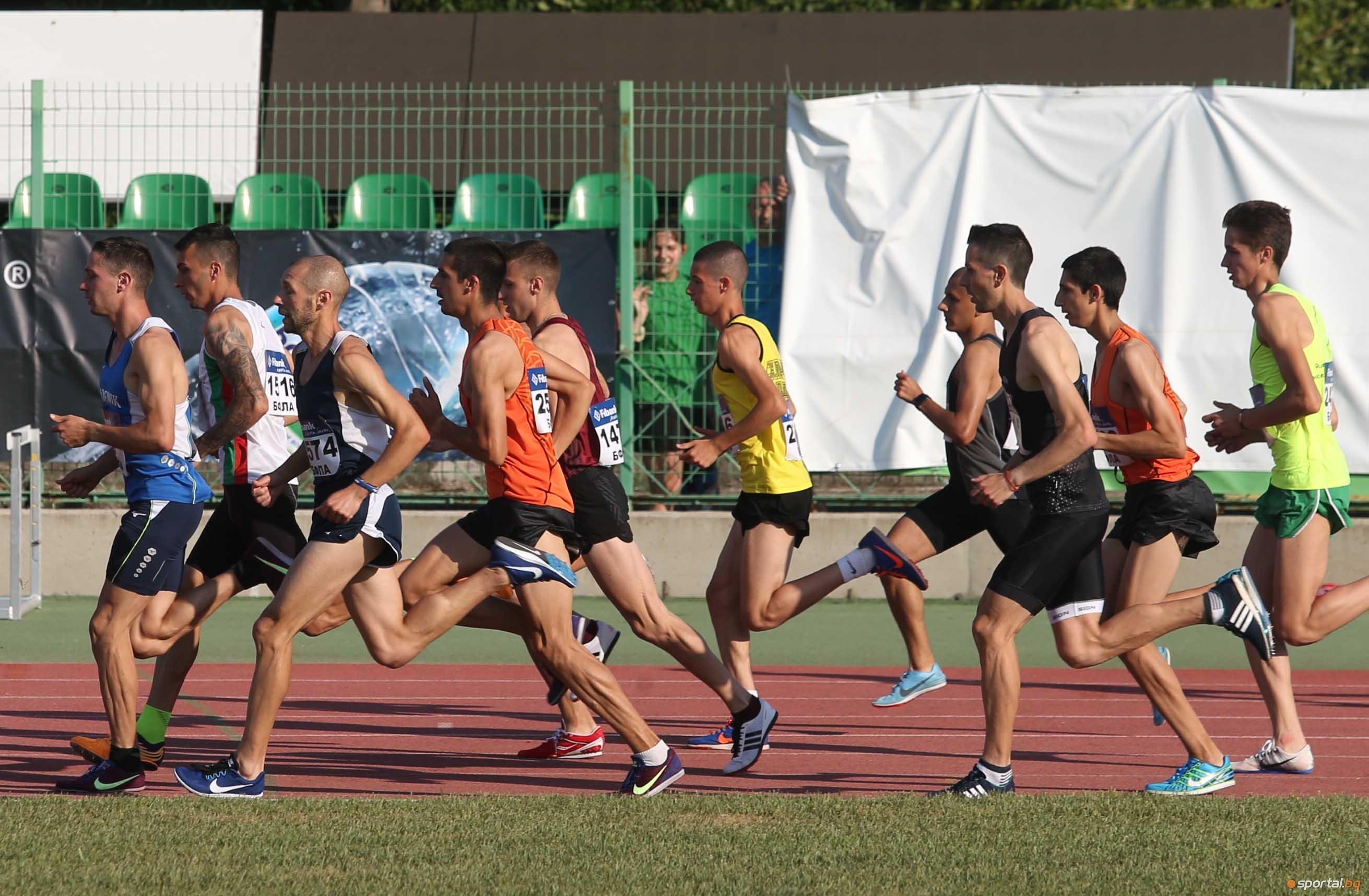 Силни резултати записаха медалистите на 1500 метра при мъжете на