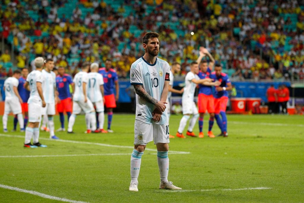 Звездата на Аржентина Лионел Меси отдели повече от 40 минути,