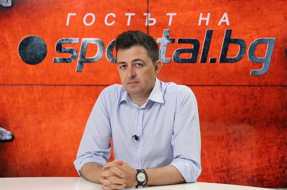 Бившият директор на Левски Красимир Иванов има нов проект. Той