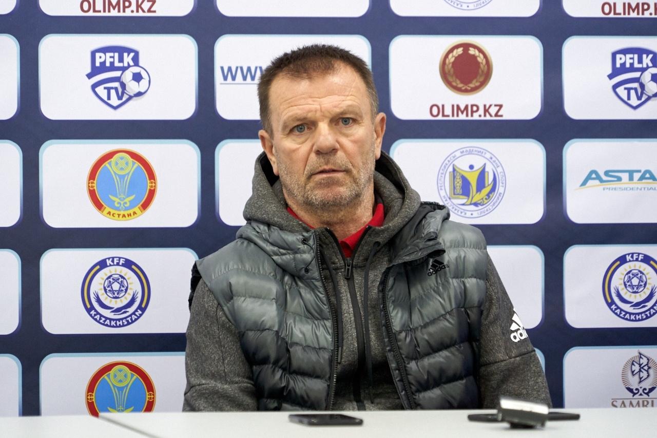 Старши треньорът на Кайсар Стойчо Младенов беше много разочарован след