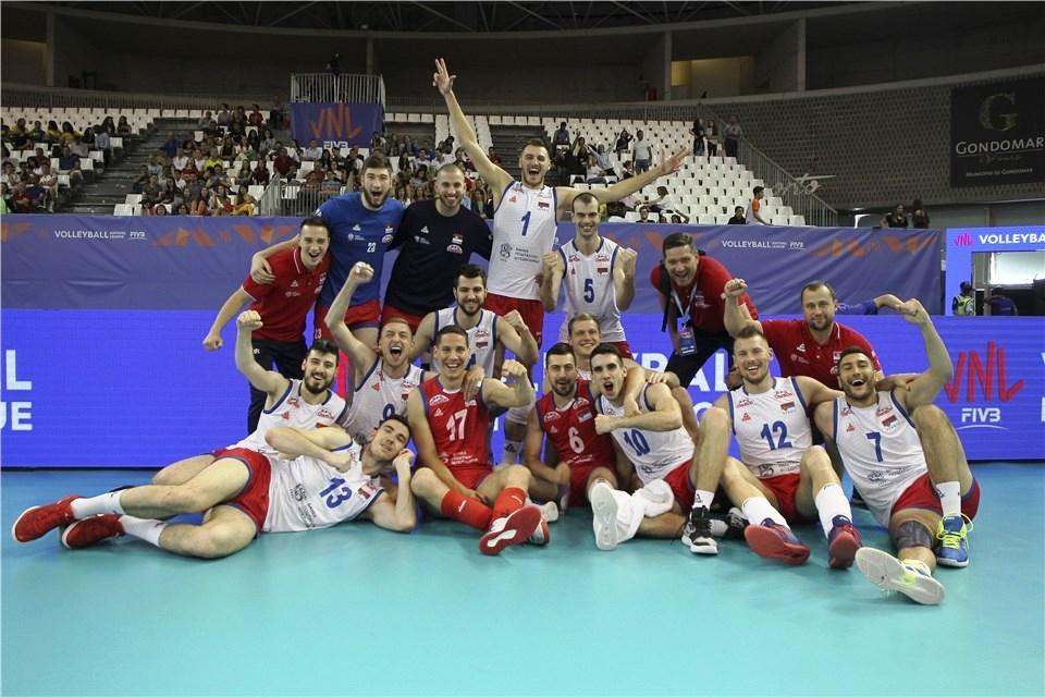 Националния волейболен отбор на Сърбия завърши по перфектен начин турнира