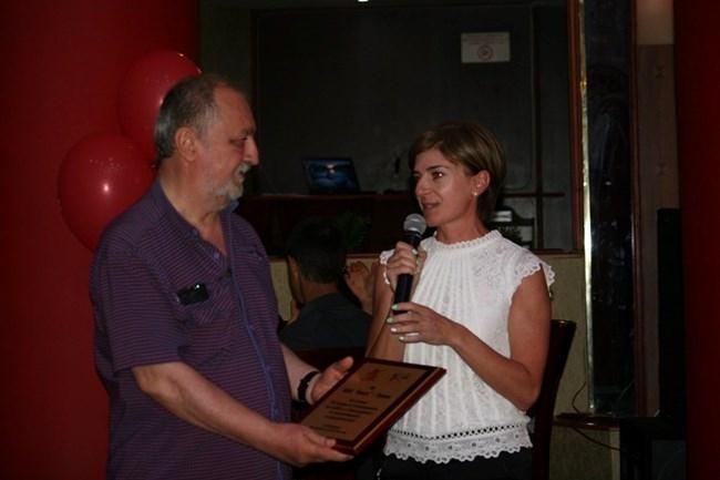 Президентът на Българската федерация по биатлон Екатерина Дафовска уважи празника
