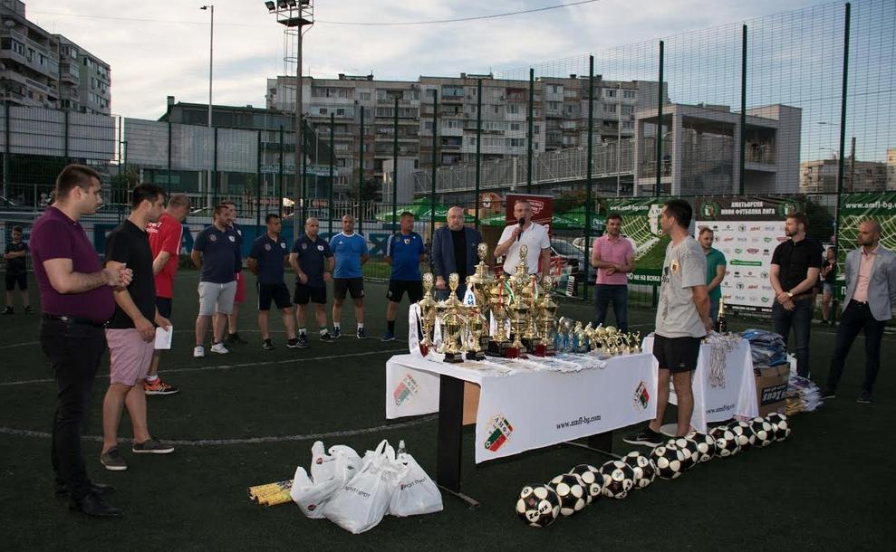 Снимка: Министър Кралев и кметът Портних наградиха участниците в АМФЛ Варна