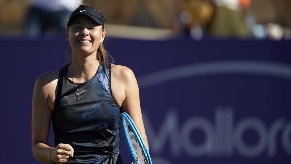Бившата номер 1 в света Мария Шарапова се показа в
