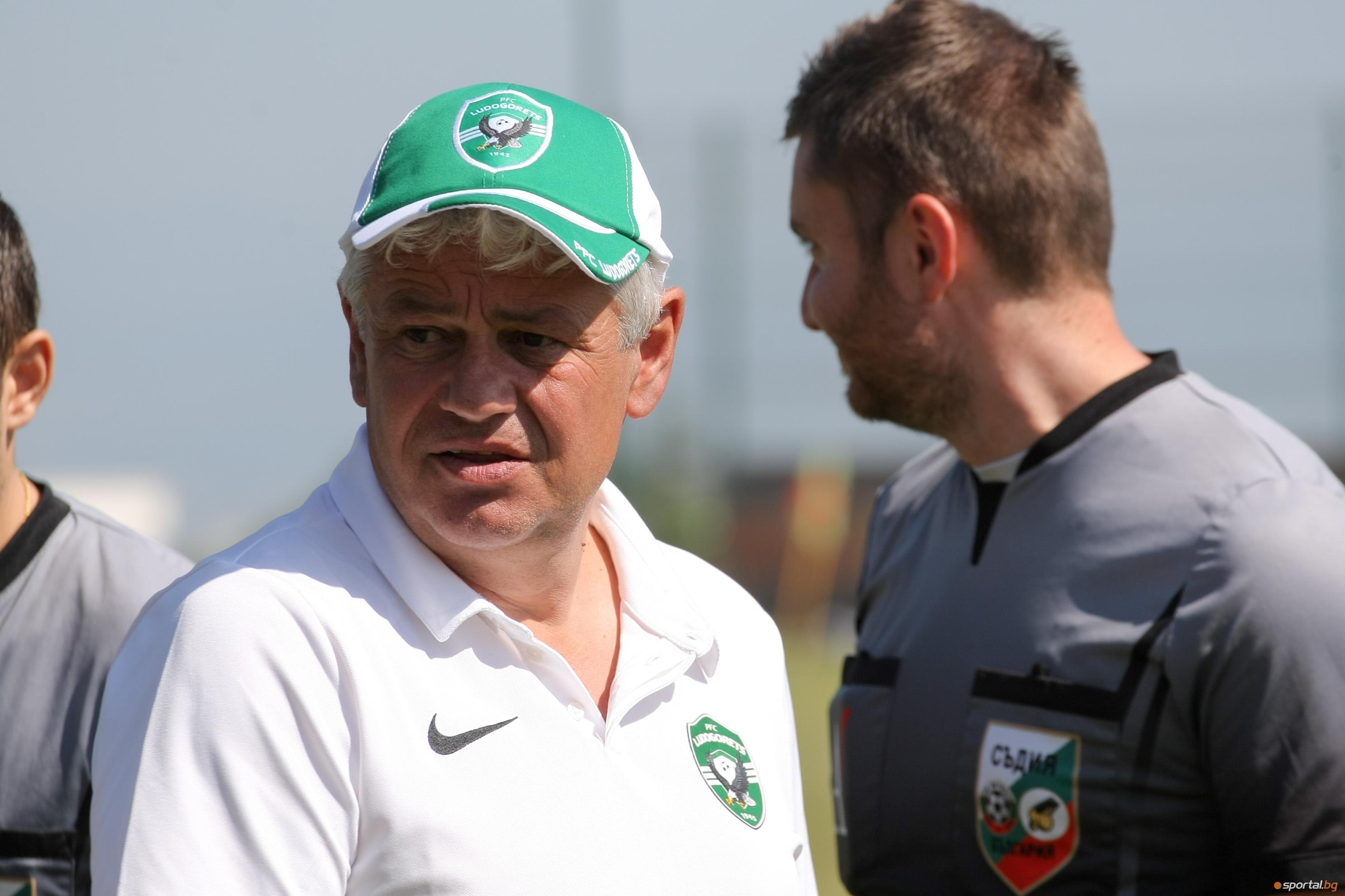 Треньорът на Лудогорец Стойчо Стоев коментира жребия за първия квалификационен