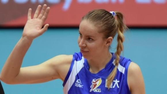 Българската волейболистка Добриана Рабаджиева се завръща в Китай. 28-годишната състезателка,