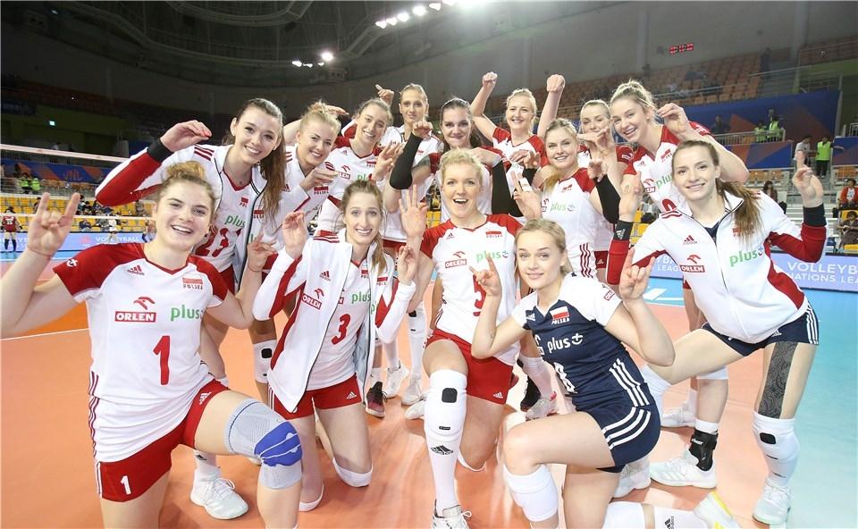 Женският национален отбор на Полша се завърна на победния път