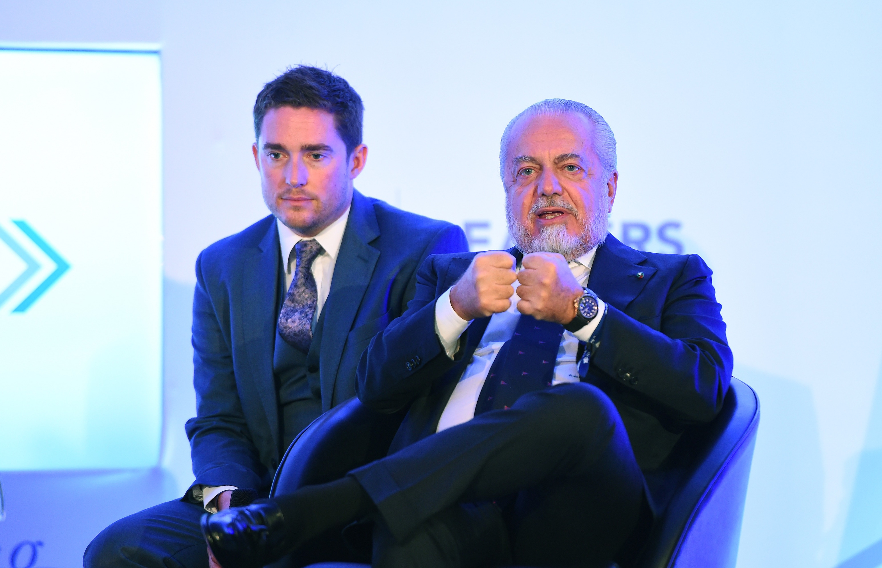 Президентът на Наполи Аурелио Де Лаурентис призна, че приоритетна цел