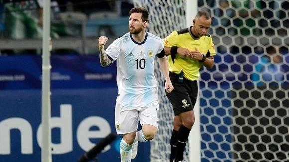 Аржентина и Парагвай играят при нулево равенство в мач от