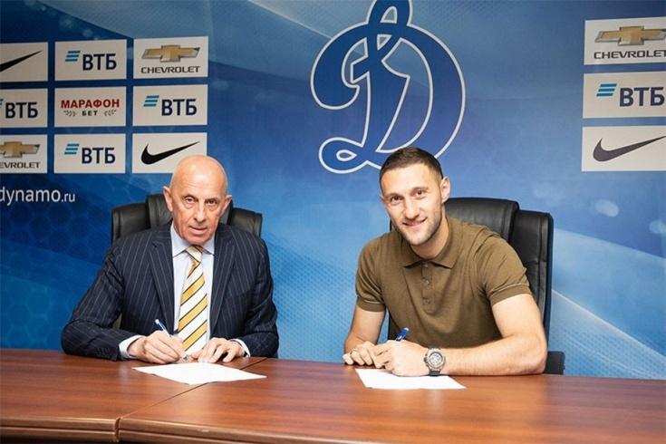 Украинецът Иван Ордец е четвъртото ново попълнение на Динамо (Москва).