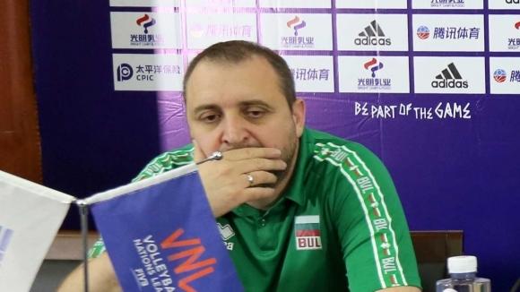 Селекционерът на България Иван Петков говори след загубата от Германия