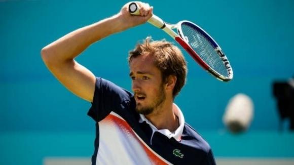 Даниил Медведев преодоля втория кръг на турнира по тенис