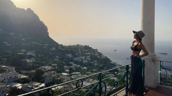 Бившата приятелка на Григор Димитров си изкарва страхотно на италианския