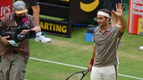 Роджър Федерер се класира за 1/4-финалите на турнира по тенис