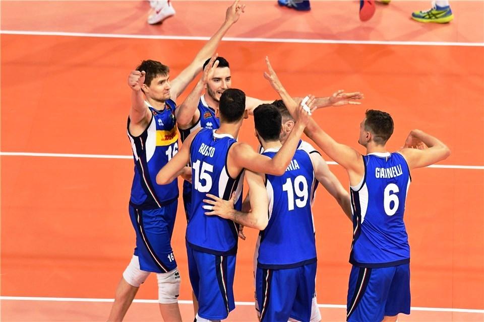 Волейболистите от националния отбор на Италия записаха 4-а поредна и