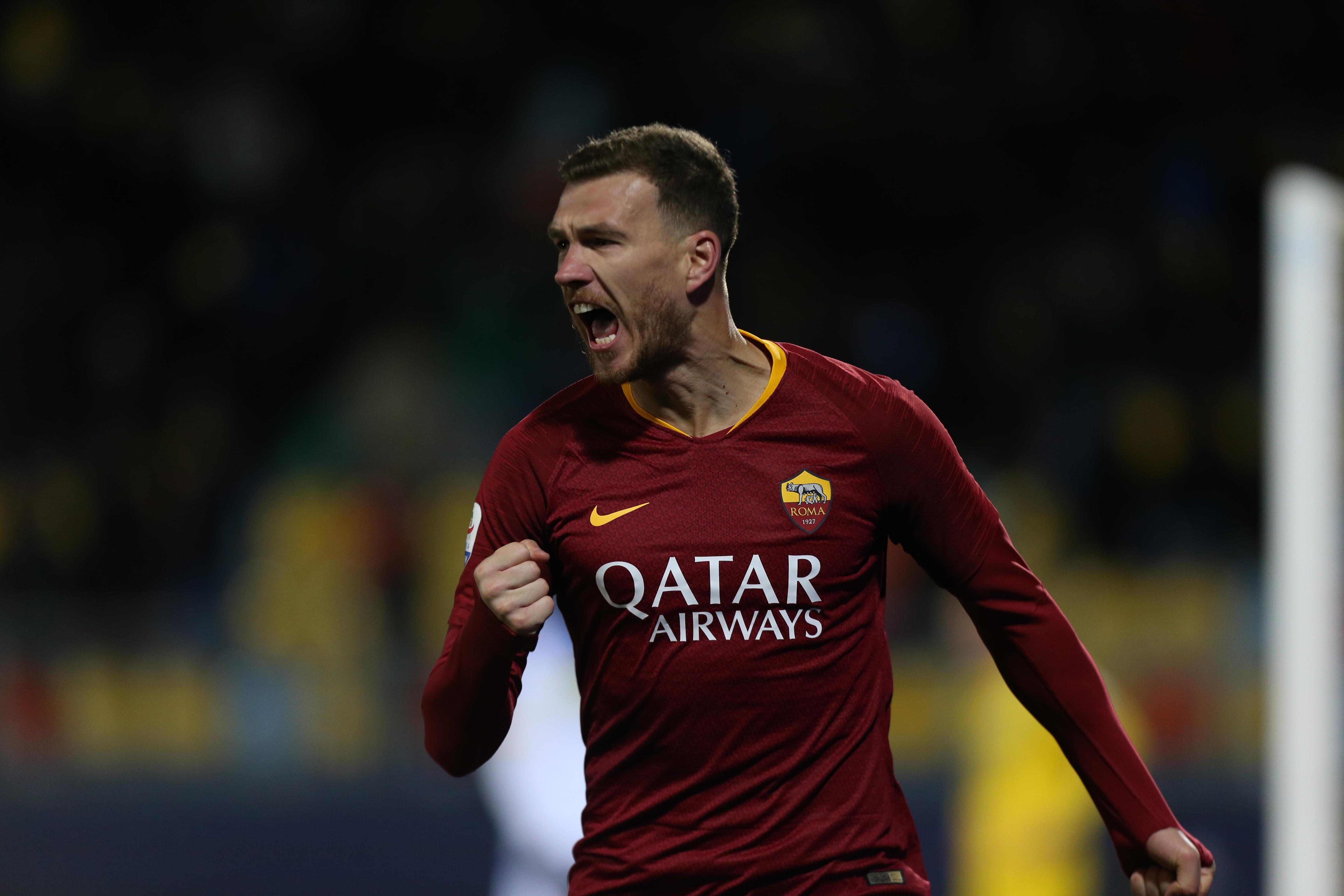 Трансферът на Един Джеко от Рома в Интер се очаква