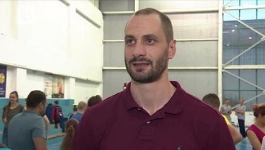 Българският волейболист Матей Казийски говори за възможността отново да играе