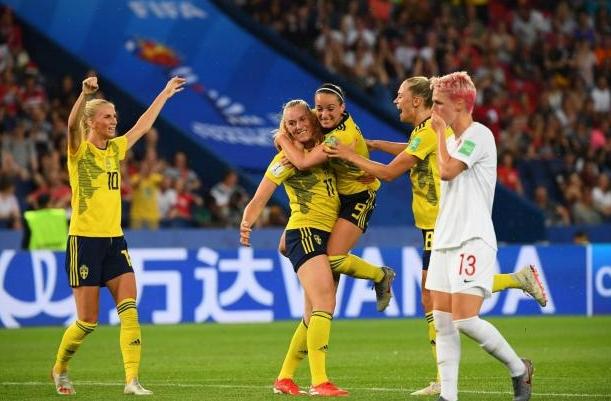 Отборът на Швеция се класира за 1/4-финалите на световното първенство