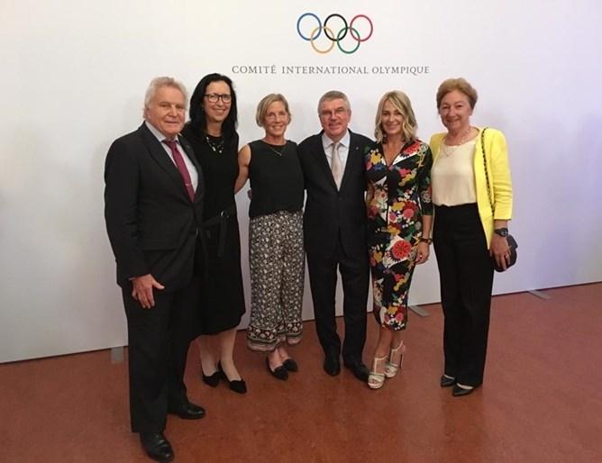 Олимпийската шампионка за България Светла Оцетова бе сред големите звезди