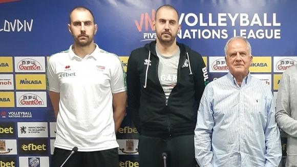 Снимка: Валентин Братоев: С публиката в Пловдив можем да постигнем и 3 победи