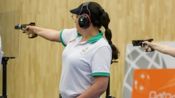 Българската състезателка по спортна стрелба Антоанета Бонева влезе във финала