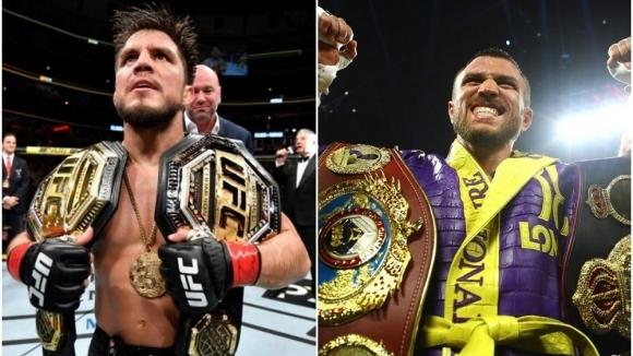 Модата шампиони на UFC да предизвикват звезди на бокса за