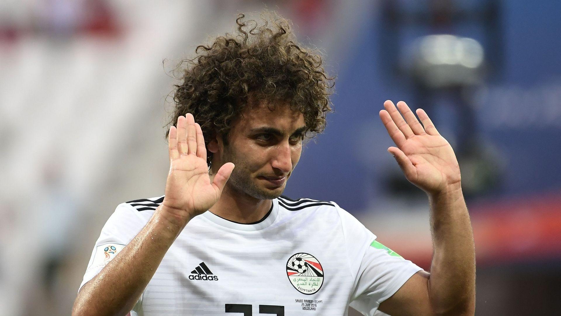 Египетският полузащитник Амр Варда бе отстранен от отбора по дисциплинарни