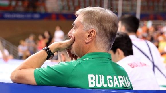 Мъжкият национален отбор по волейбол загуби от Иран с 0:3