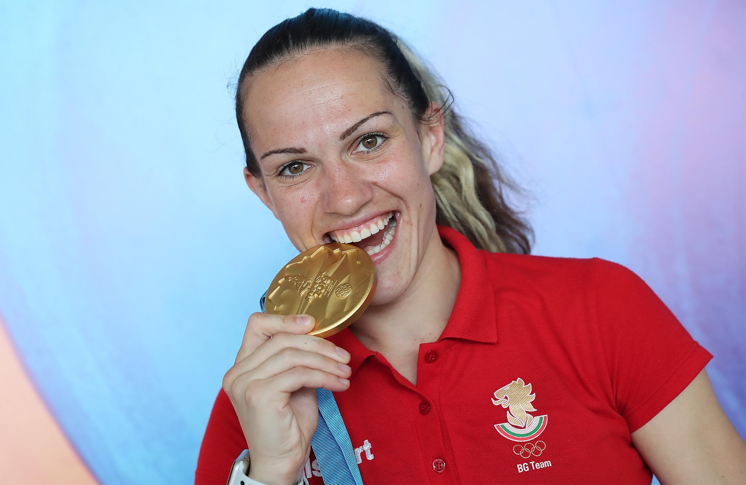 Станимира Петрова спечели златния медал в категория до 57 килограма