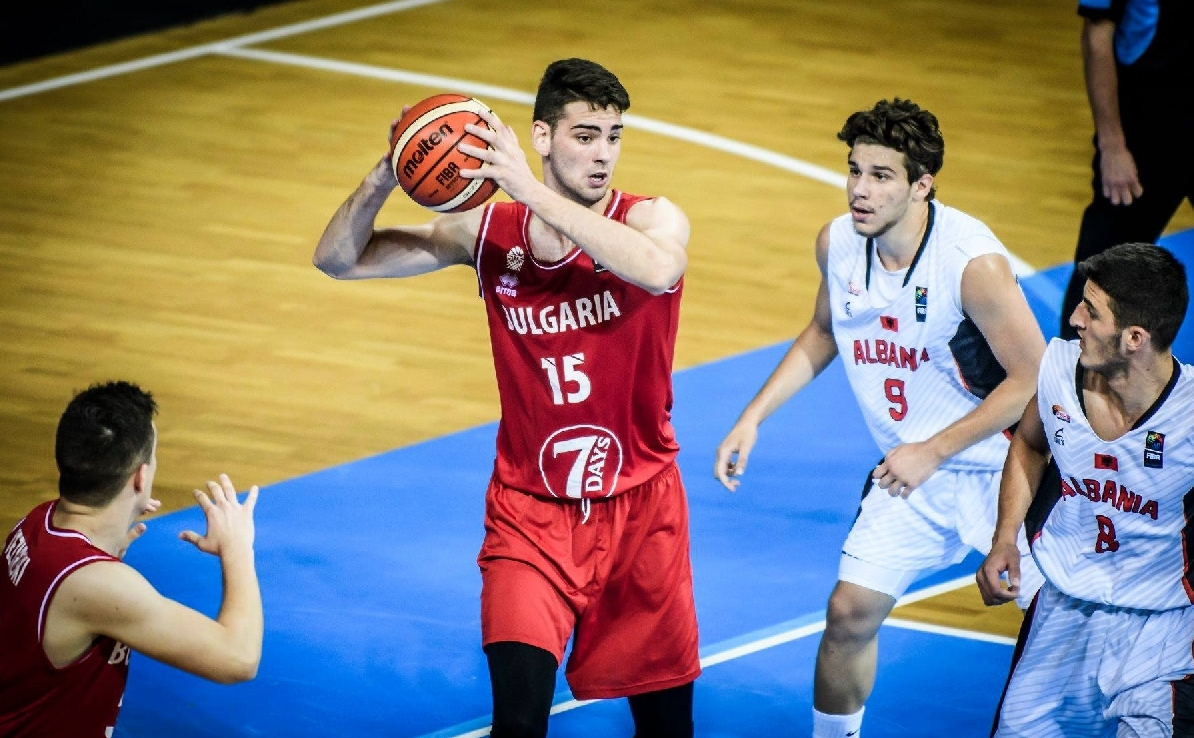 Националният отбор на България по баскетбол за мъже до 20