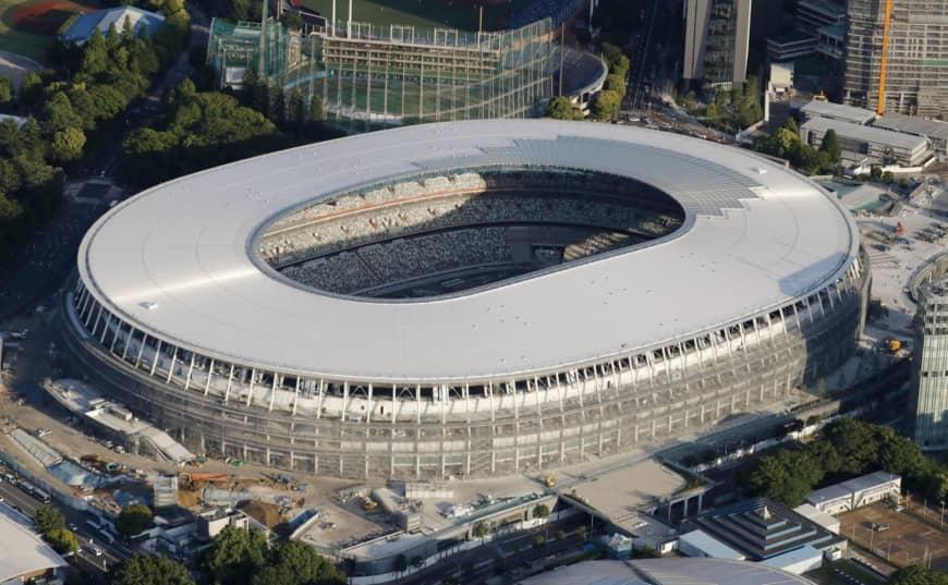Новият национален стадион в Токио е готов на 90 процента