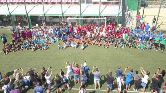 Истински футболен спектакъл изнесоха всички отбори по време на традиционния