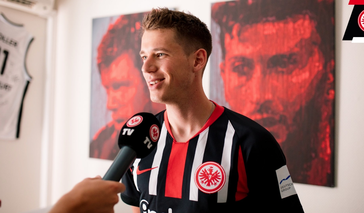 Полуфиналистът в Лига европа Айнтрахт (Франкфурт) привлече със свободен трансфер