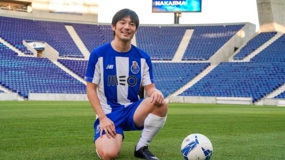 Японският полузащитник Сея Накаджима вече е играч на Порто, съобщава