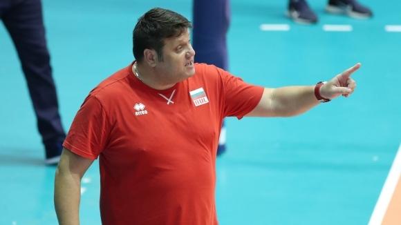Снимка: Мартин Стоев: Няма значение срещу кого сме на полуфинал, трябва да победим