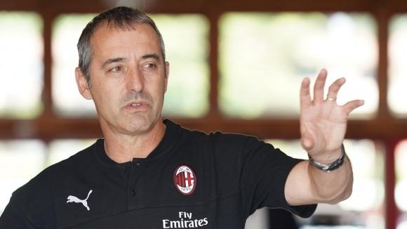 Новият наставник на Милан Марко Джампаоло официално беше представен като