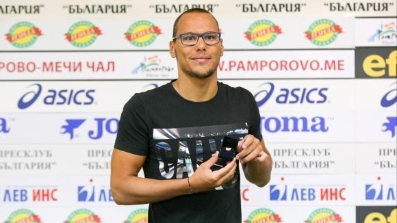 Най-добрият български плувец в последните години Антъни Иванов беше награден