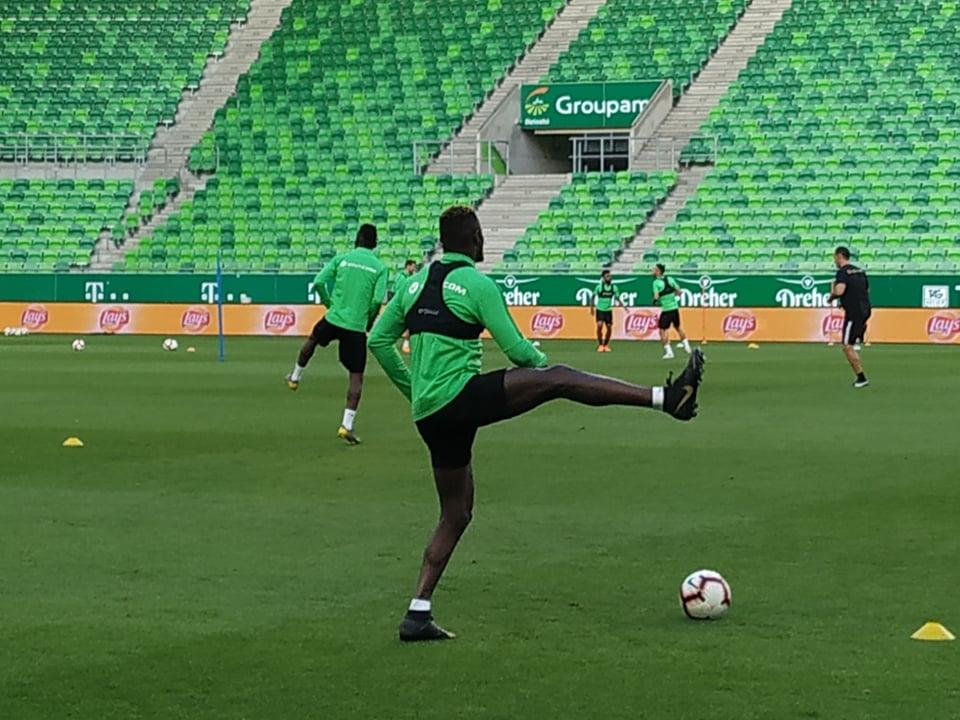 Снимка: Лудогорец тренира без кадрови проблеми преди мача с Ференцварош