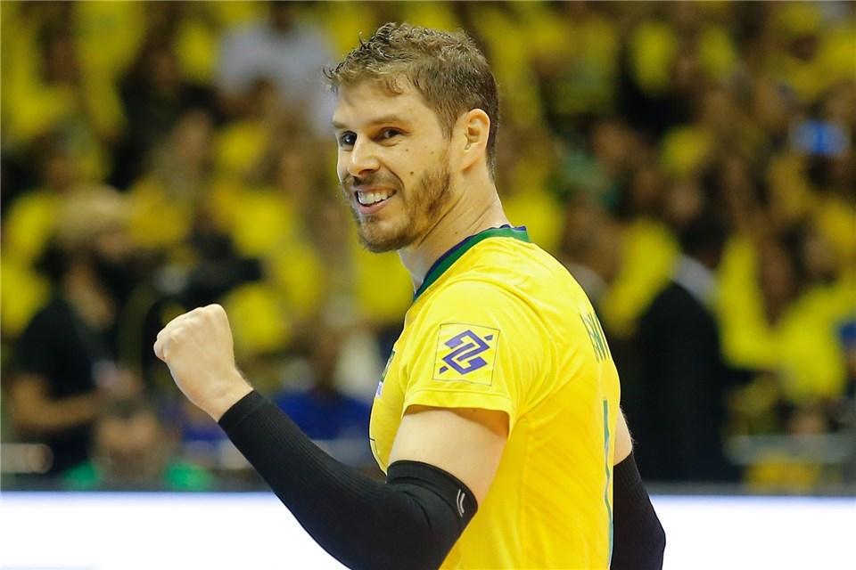 Капитанът на олимпийския волейболен шампион Бразилия Бруно Резенде сподели преди