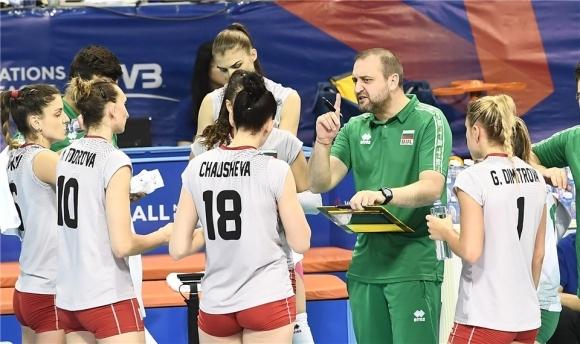Селекционерът на женския ни национален волейболен отбор Иван Петков заяви,