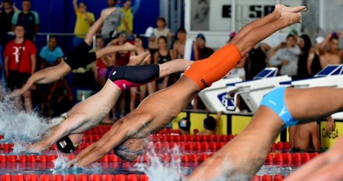 Най-добрият български плувец - Антъни Иванов, шестият и седмият от